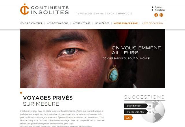Continents insolites l atelière du web webmarketing